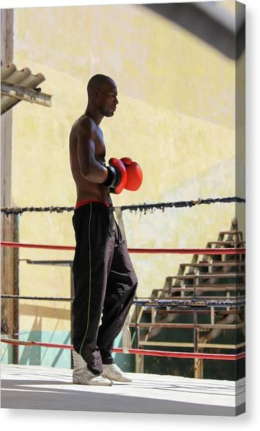 El Boxeador Canvas Print