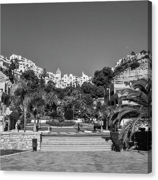 Vacations Canvas Print - El Capistrano, Nerja by John Edwards