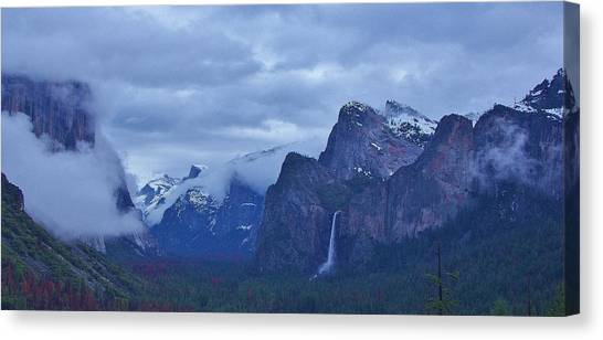 Canvas Print featuring the photograph El Capitan From Artist Point I by Phyllis Spoor