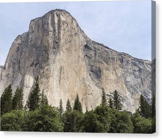 El Capitan Yosemite Valley Yosemite National Park Canvas Print