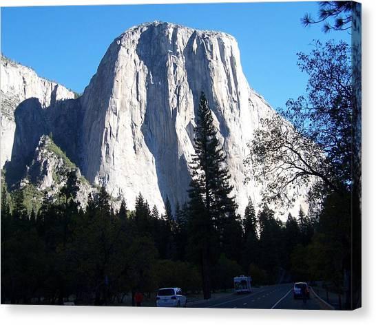 El Capitan Yosemite Canvas Print by Vijay Sharon Govender