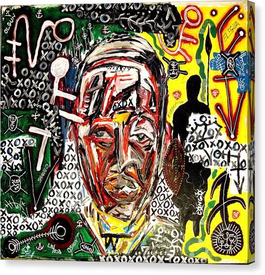 El Congo Canvas Print by Jay Lonewolf