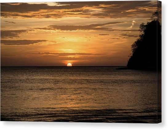 El Jobo Sunset Canvas Print by Michael Santos