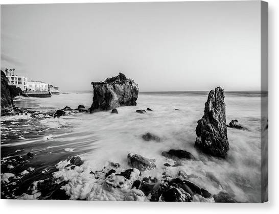 Canvas Print featuring the photograph El Matador State Beach by Margaret Pitcher