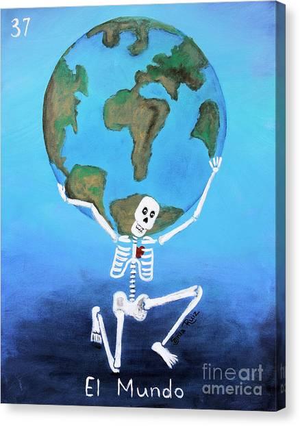 El Mundo Canvas Print