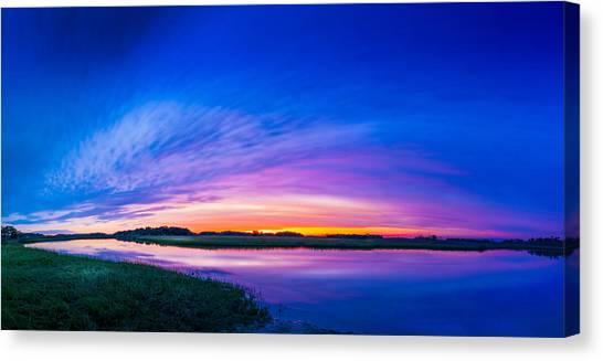 Saws Canvas Print - El Nino Sky by Marvin Spates