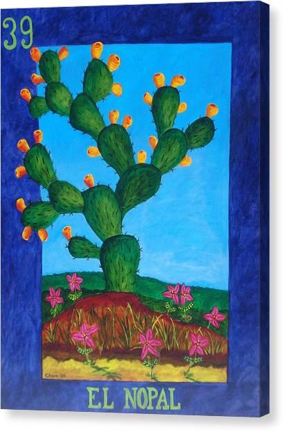 El Nopal Canvas Print