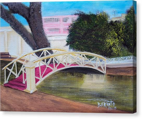 El Parterre In Aguadilla Pr Canvas Print