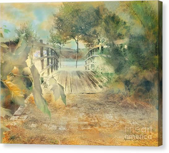El Puente De Laxe Canvas Print