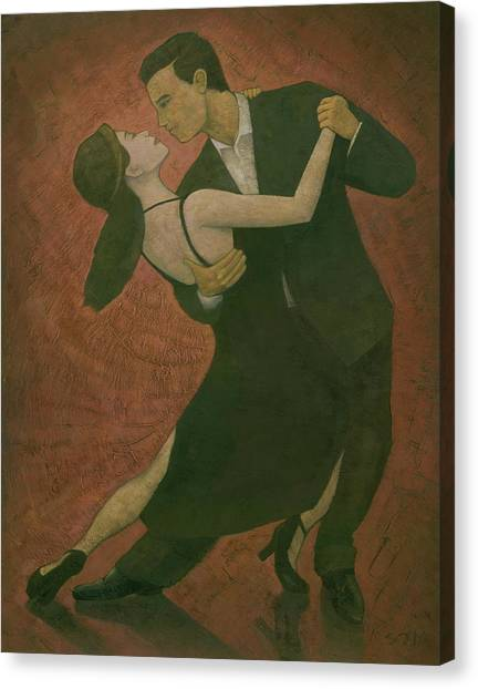 El Tango Canvas Print by Steve Mitchell