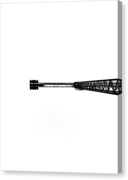 Vertigo Canvas Print - El Vértigo Ante Ciertas Situaciones by Blancoynight Prints