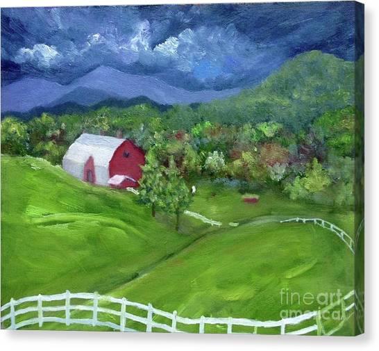 Elaida Home Canvas Print