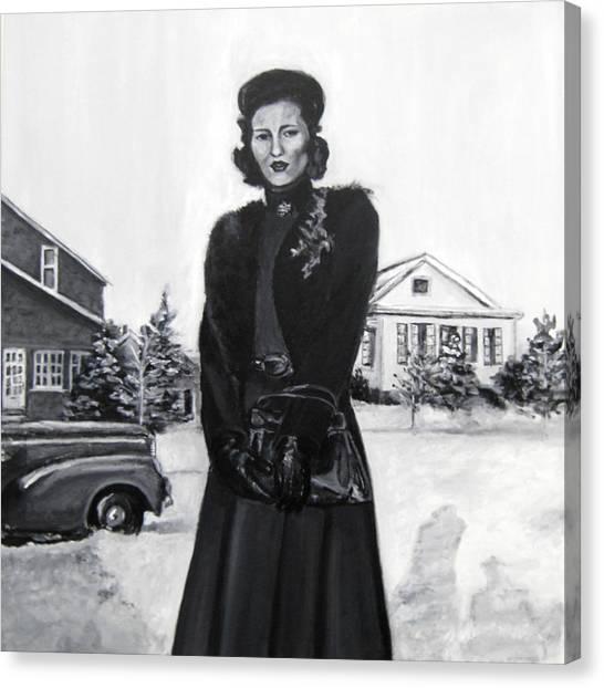 Elda Canvas Print by Natalie Mae Richards