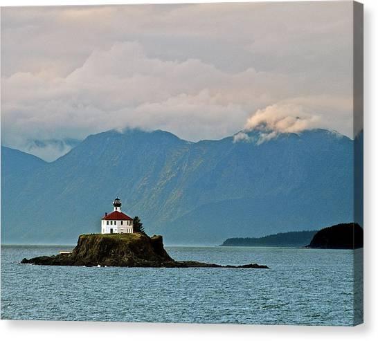 Eldred Rock Lighthouse Skagway Canvas Print