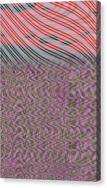Electric Canvas Print by Eileen Shahbazian