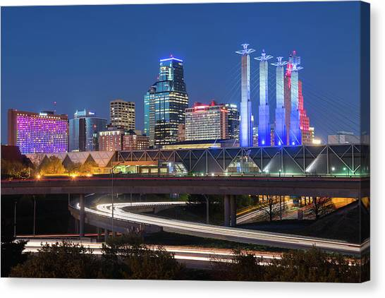 Electric Kc Canvas Print