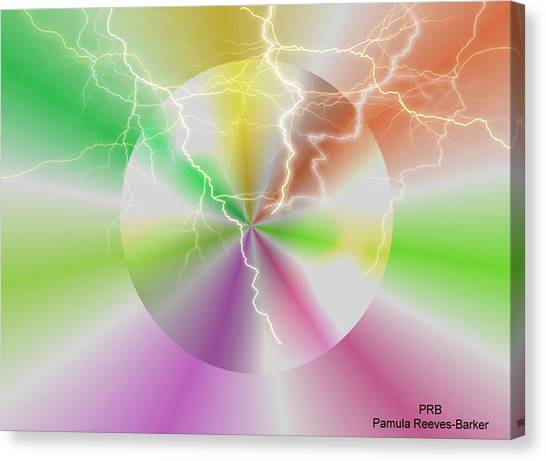 Canvas Print - Electric Lollipop by Pamula Reeves-Barker
