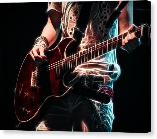 Electric Rock Canvas Print