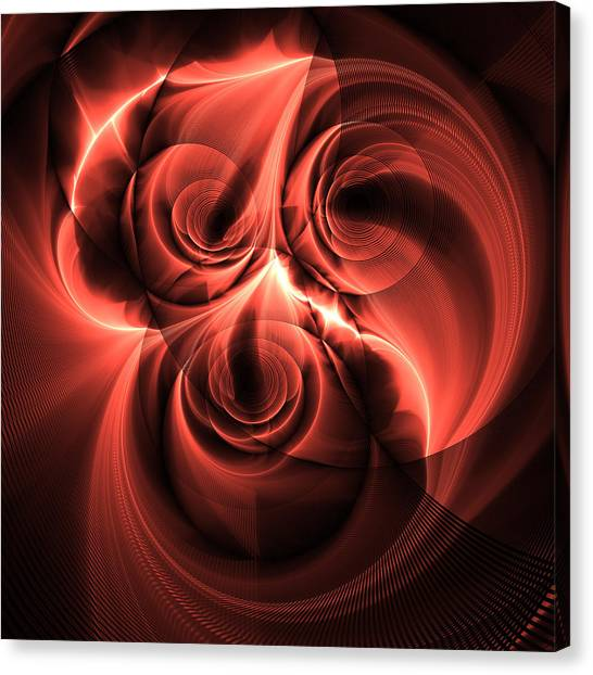 Electric Rose Canvas Print