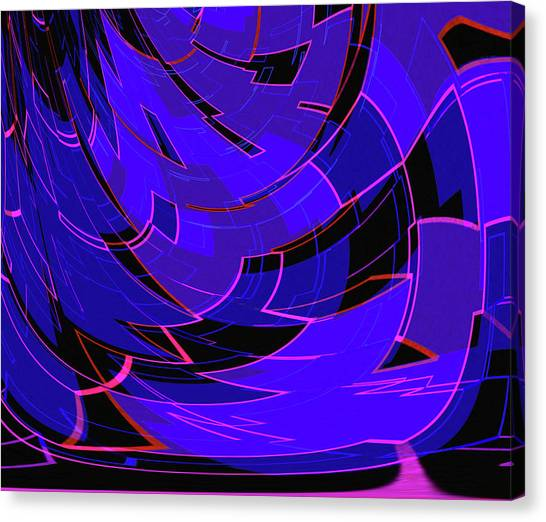 Synthesizers Canvas Print - Electronic Dance Floor by Frodomixa Studio