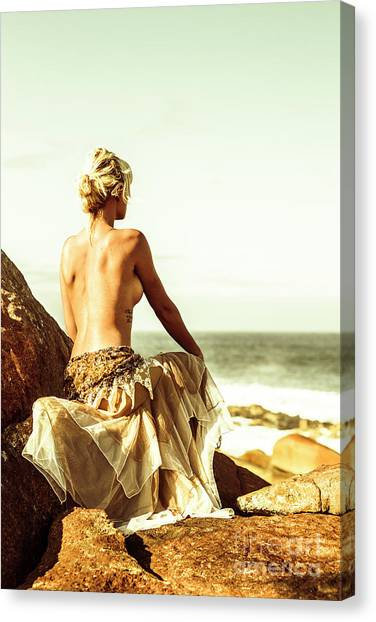 Female Nude Art Canvas Print - Elegant Classical Beauty  by Jorgo Photography - Wall Art Gallery