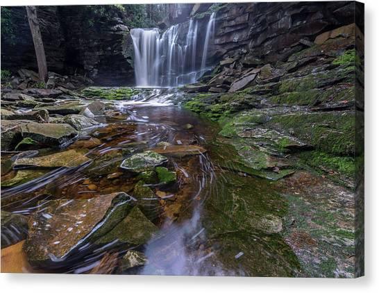 Elekala Falls Canvas Print