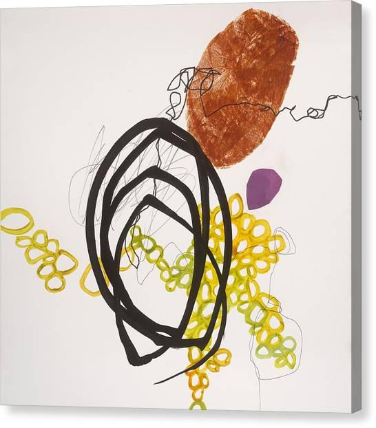 Acrylic Canvas Print - Element # 11 by Jane Davies