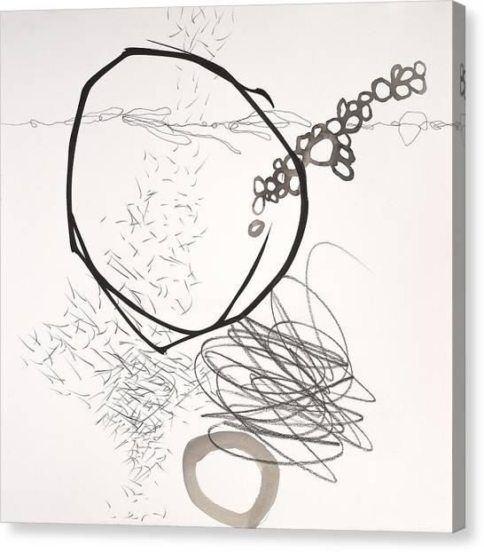 Acrylic Canvas Print - Element # 2 by Jane Davies