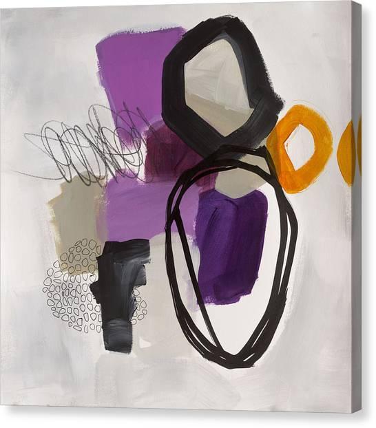 Acrylic On Canvas Print - Element # 6 by Jane Davies