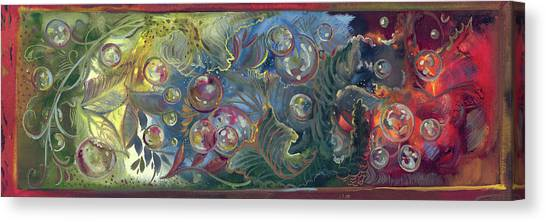 Elemental Bubbles Canvas Print