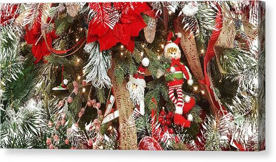 Elf In A Tree Canvas Print
