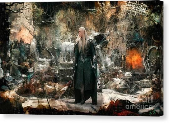 Elf King Thranduil  Canvas Print