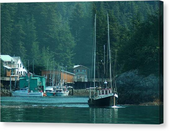 Elfin Cove Alaska Canvas Print