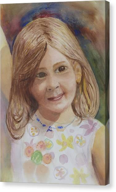 Elizabeth Warren Canvas Print - Elizabeth by Donna Walsh