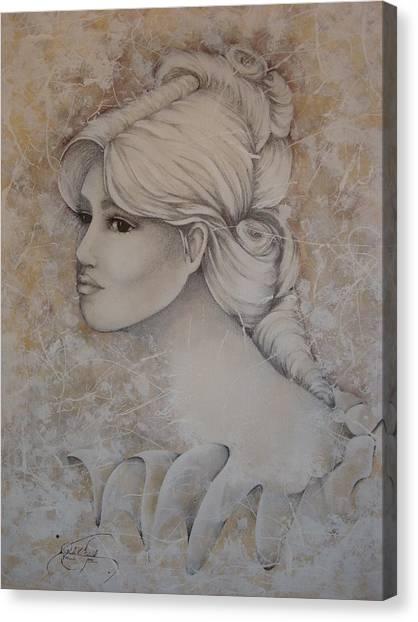 Elizabeth Canvas Print by Paula Weber