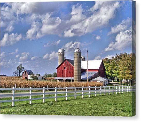 Elkhart County Farm Canvas Print