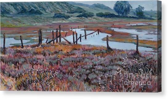 Elkhorn Slough Morning Canvas Print