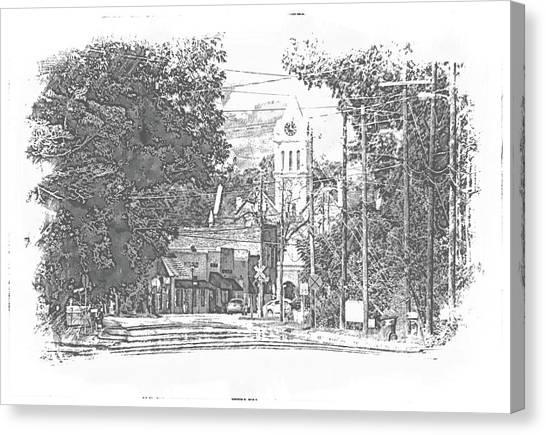 Ellaville, Ga - 1 Canvas Print