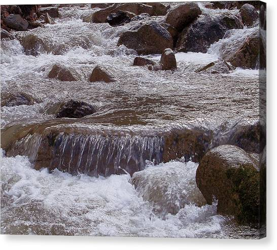 Ellenville Waterfall Canvas Print