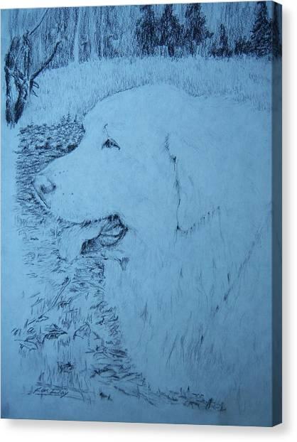 Ellie Canvas Print by Ken Day