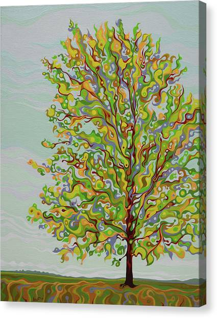 Ellie's Tree Canvas Print