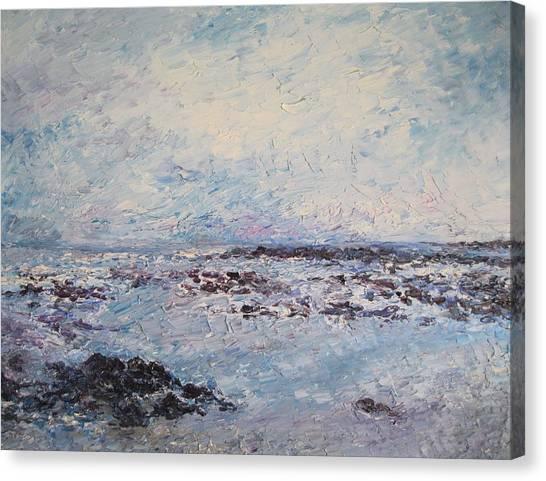Elly Bay Canvas Print by Niamh Slack