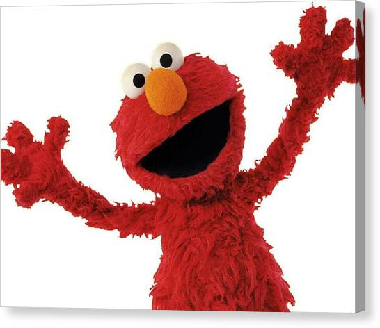 Elmo Canvas Print