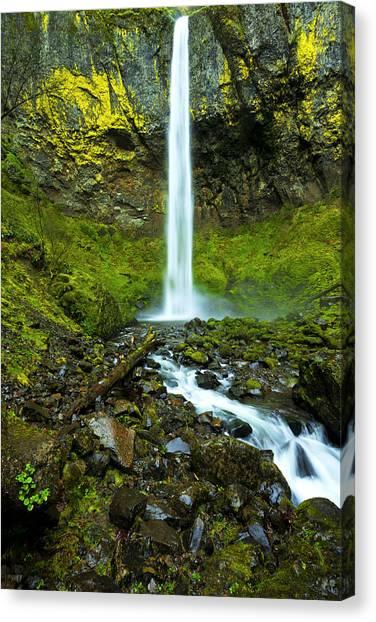 Oregon Canvas Print - Elowah's Elegance by Chad Dutson