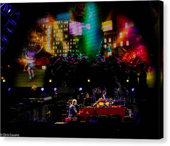 Elton - Sad Songs Canvas Print