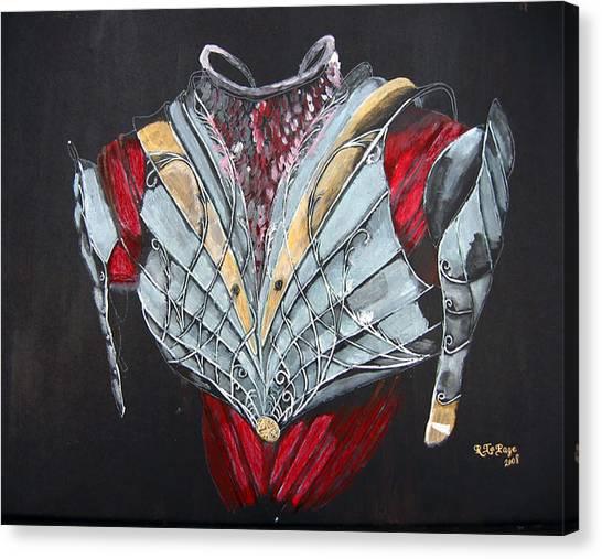 Elven Armor Canvas Print