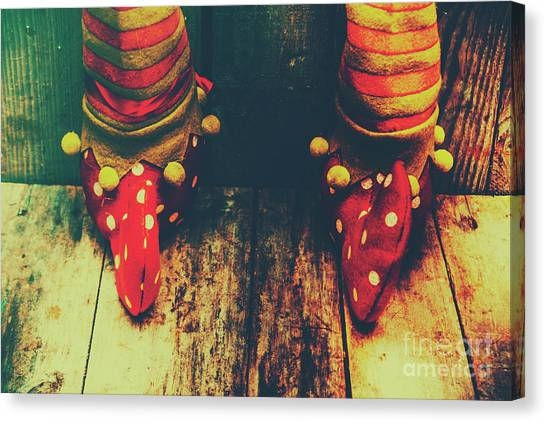 Elves Canvas Print - Elves And Feet by Jorgo Photography - Wall Art Gallery