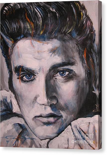 Elvis 2 Canvas Print