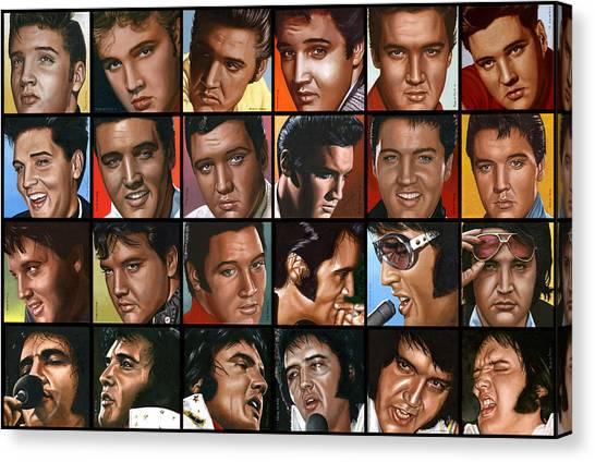 Elvis 24 Canvas Print