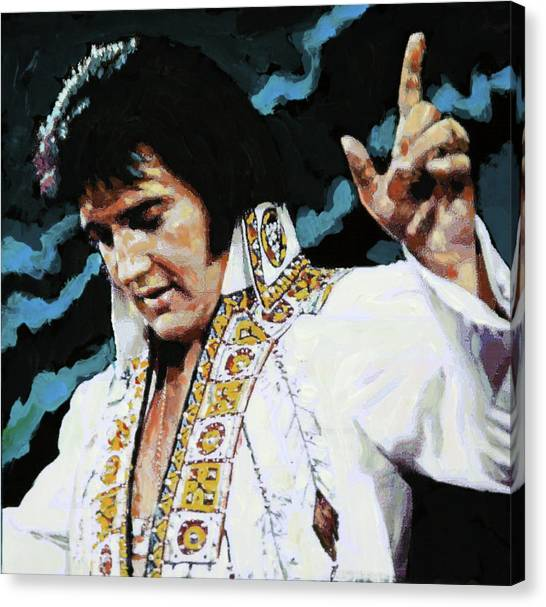Elvis - How Great Thou Art Canvas Print